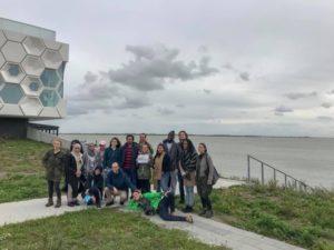 Visiting Afsluitdijk with Wetskills Water Challenge and my Team Members